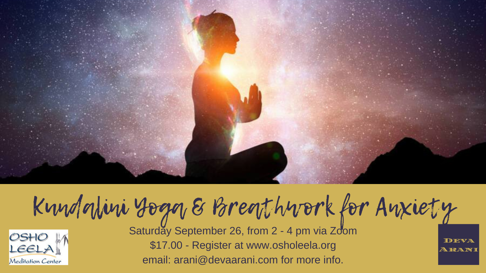 Kundalini Yoga and Breathwork for Anxiety