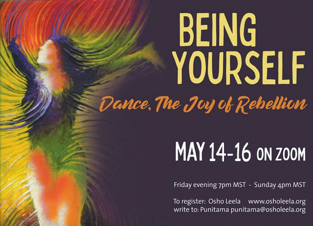 Being Yourself – Dance, The Joy of Rebellion